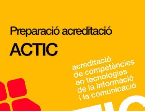 CURS PREPARACIÓ ACTIC NIVELL MITJA