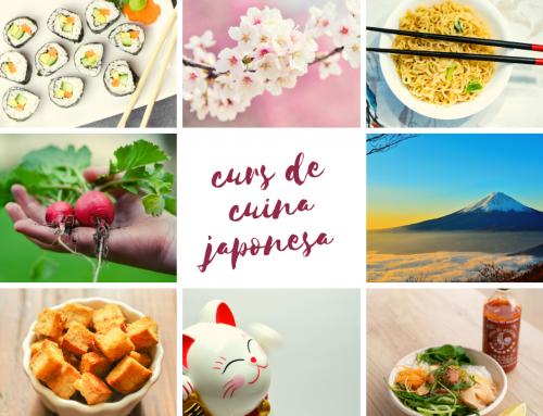 Curs de CUINA JAPONESA – inici el 18 de febrer